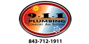 9-1-1 Plumbing & Comfort Air Systems logo